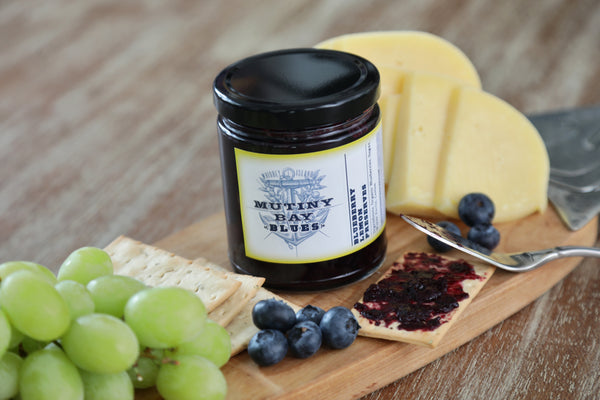 Blueberry Lemon Preserves