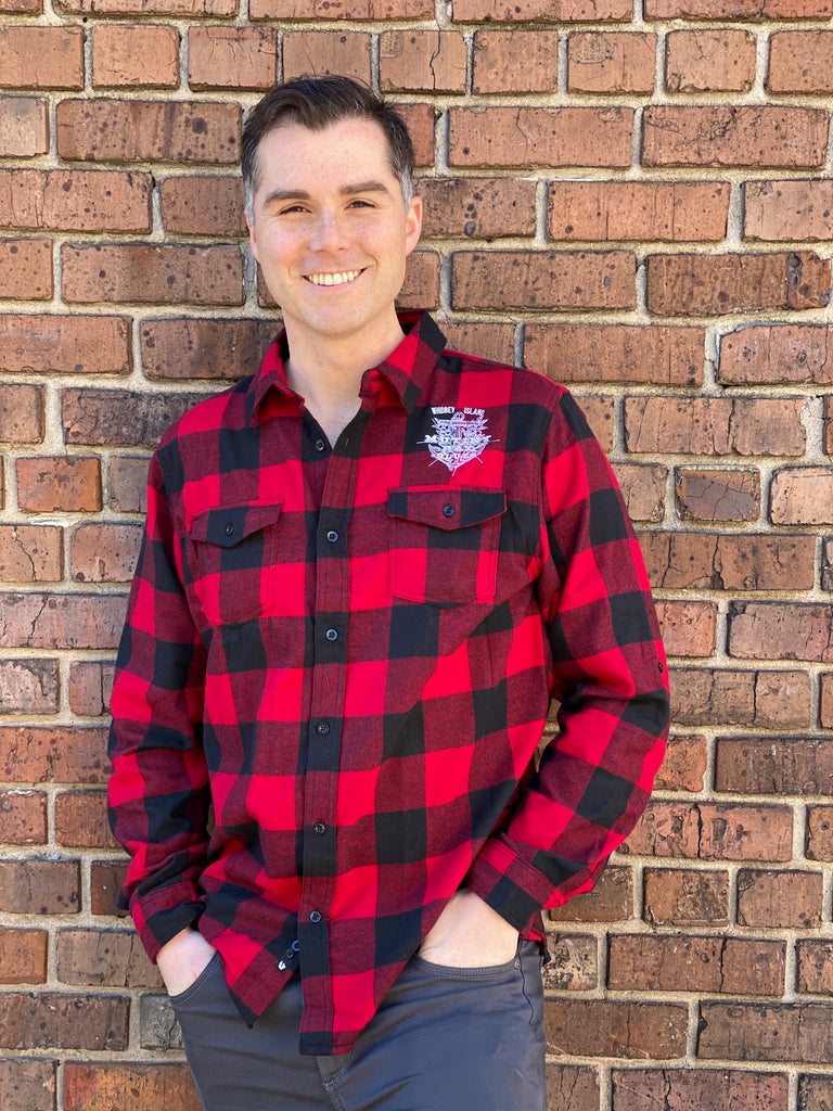 Mutiny Bay Blues Buffalo Plaid Flannel Shirt