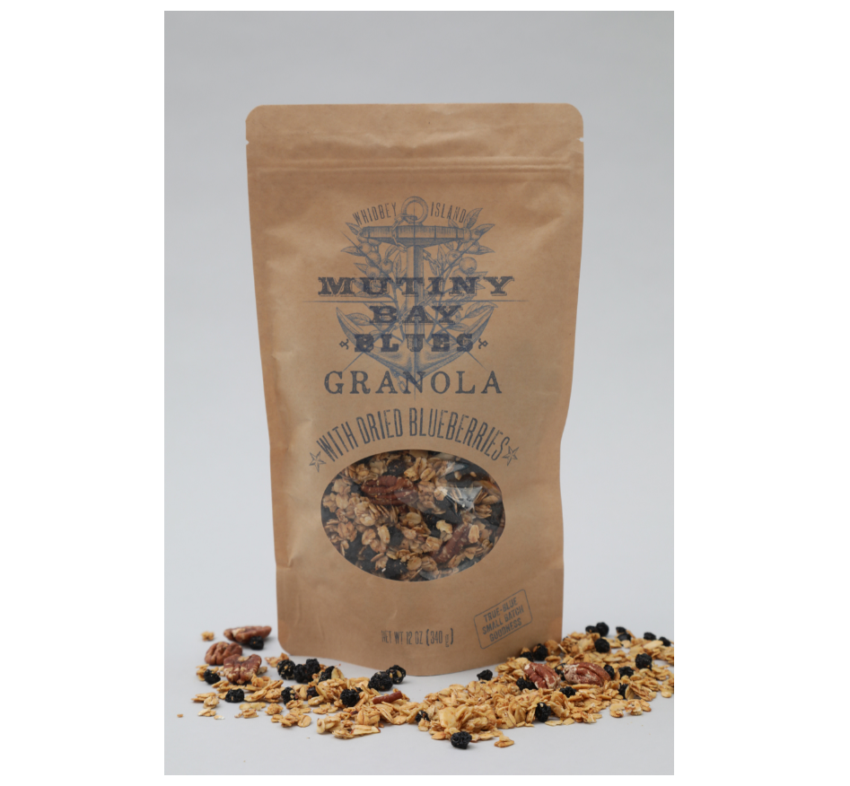 Granola with Dried Blueberries