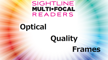 SightLine optical quality frames versus cheap reading glasses