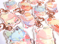 Seasonal Birb Acrylic Charms