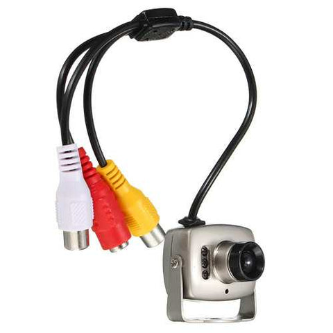 6 LED Mini Wired Infrared CMOS CCTV Camera Security  Color Night Vision