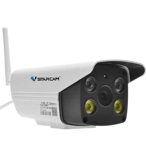Vstarcam C18S Waterproof IP WiFi Camera AP Hots Pan/Tilt Motion Detection Alarm Push IR CCTV