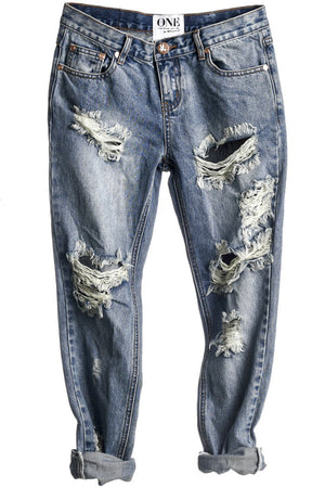 One Teaspoon Dirty Ford Awesome Baggies Denim