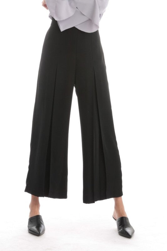 End Game Front Pleat Wide Leg Pant
