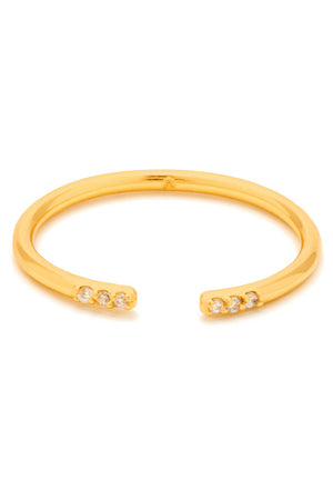Gorjana Gold Aida Cuff Ring