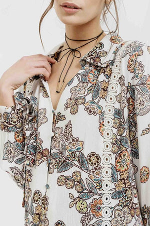 Dream Come True Floral Top