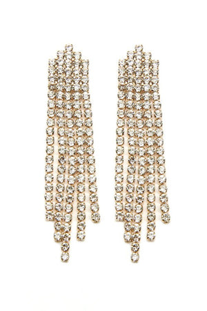 Champagne Wishes Tassel Post Earring