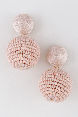 Disco Ball Beaded Earring - Savoir-Faire | Women's Clothing Boutique