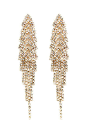 Eternal Glow Tassel Drop Earring