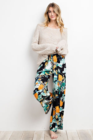 Boho Beauty Wide Leg Pants - Savoir-Faire | Women's Clothing Boutique