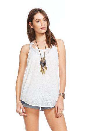 Chaser Brand Vintage Jersey Tank - Savoir-Faire | Women's Clothing Boutique