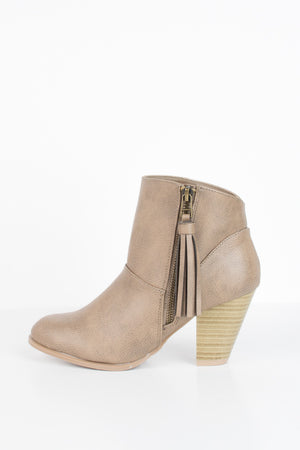 Neutral Territory Booties