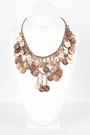 Ancient Coins Necklace - Savoir-Faire | Women's Clothing Boutique