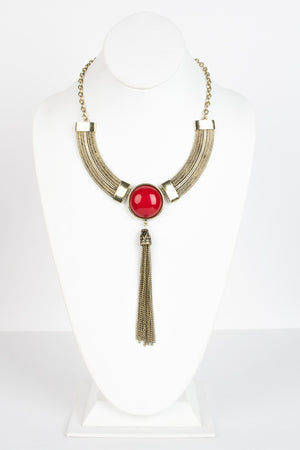 Bulls Eye Necklace - Savoir-Faire | Women's Clothing Boutique