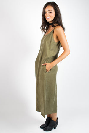C. Luce Give them the Slip Midi Dress - Savoir-Faire | Women's Clothing Boutique