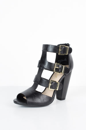 On the Town Buckle Heels