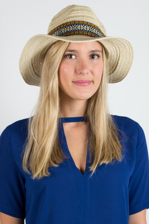 Caribbean Fedora Hat - Savoir-Faire | Women's Clothing Boutique