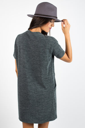 Cozy Nights Pocket Dress - Savoir-Faire | Women's Clothing Boutique