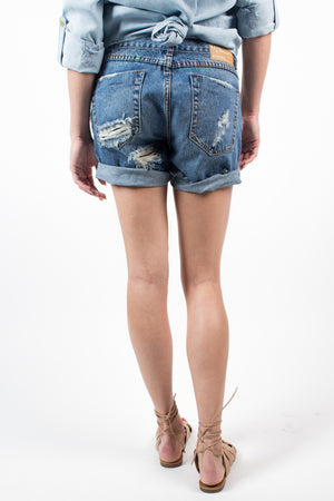 One Teaspoon Pacifica Chargers Shorts - Savoir-Faire | Women's Clothing Boutique