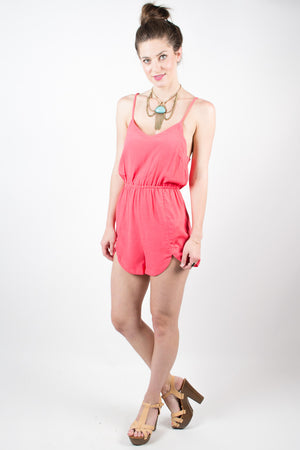 MINKPINK Pink Confessions Romper