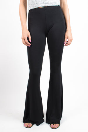 Basic Flare Pants - Savoir-Faire | Women's Clothing Boutique