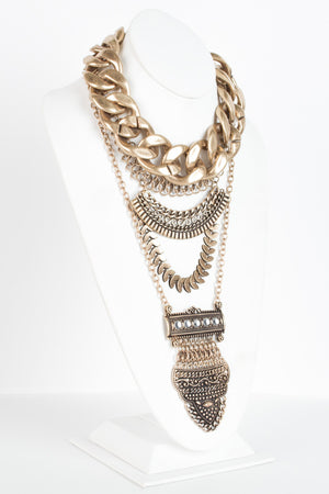 Holiday Vixen Chain Necklace - Savoir-Faire | Women's Clothing Boutique