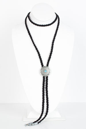 Circle Concho Wrap Necklace - Savoir-Faire | Women's Clothing Boutique