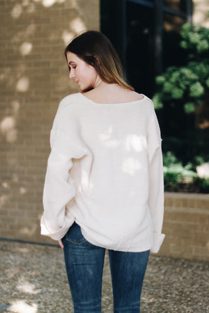 Sweeter Than Honey Cuffed Sleeve Sweater