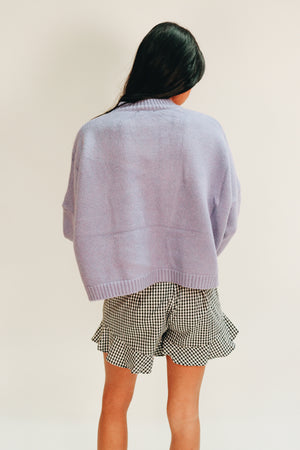 Love Me Not Basic Knit Sweater