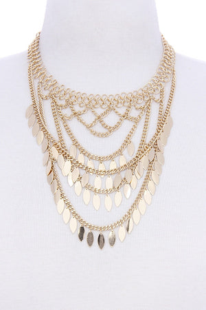Flights of Fancy Layered Necklace
