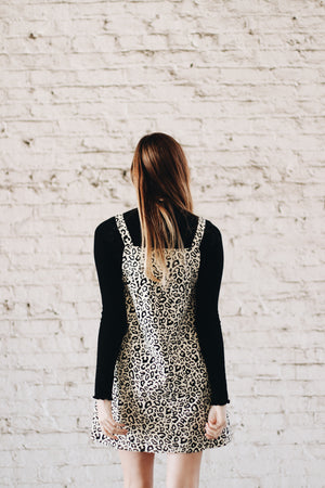 Are You For Real Leopard Jumper Dress