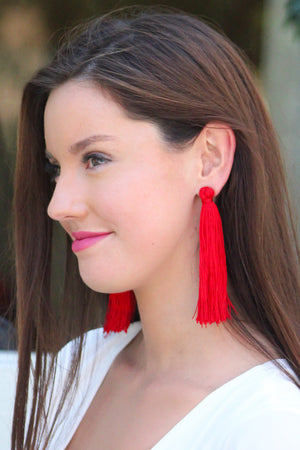 SF Private Label Tassel Earring