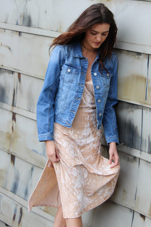 Blank NYC Rocket Fuel Denim Jacket - Savoir-Faire | Women's Clothing Boutique