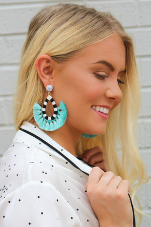 Show Me a Good Time Tear Drop Earring - Savoir-Faire | Women's Clothing Boutique