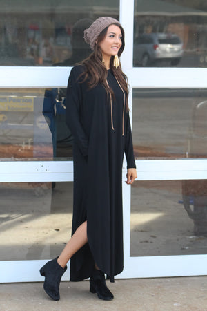 Break Stride Hooded Maxi Dress