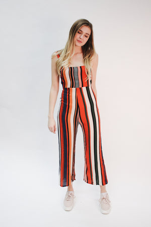 Live Outside The Lines Printed Jumpsuit