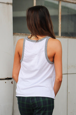 Chaser Brand Flouncy Jersey Tank - Savoir-Faire | Women's Clothing Boutique