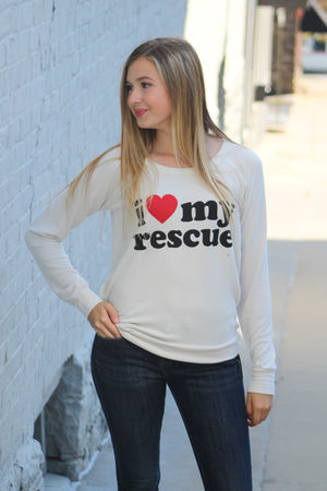 Chaser Brand Love My Rescue Knit Sweater - Savoir-Faire | Women's Clothing Boutique