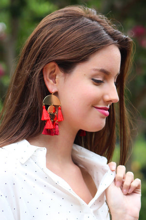 Just a Fool For You Statement Earring