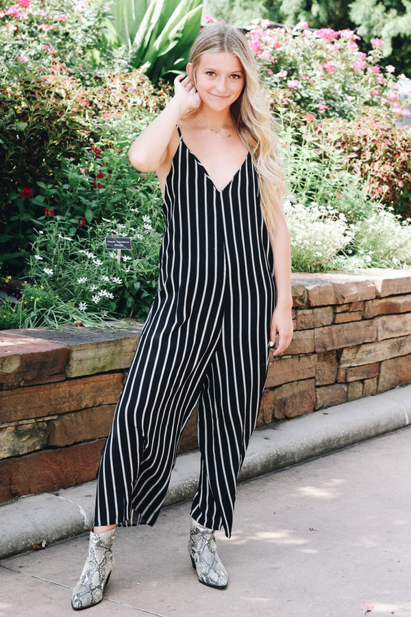 39cced1bee64 Everyday s A Win Striped Jumpsuit