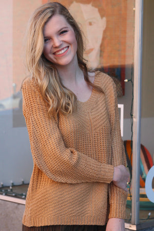 Blissful Memory Large Sleeve Sweater - Savoir-Faire | Women's Clothing Boutique