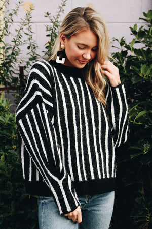 Next Level Striped Sweater