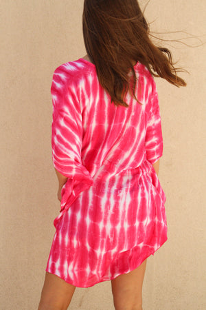 New Wave Tie Dye Cover-Up