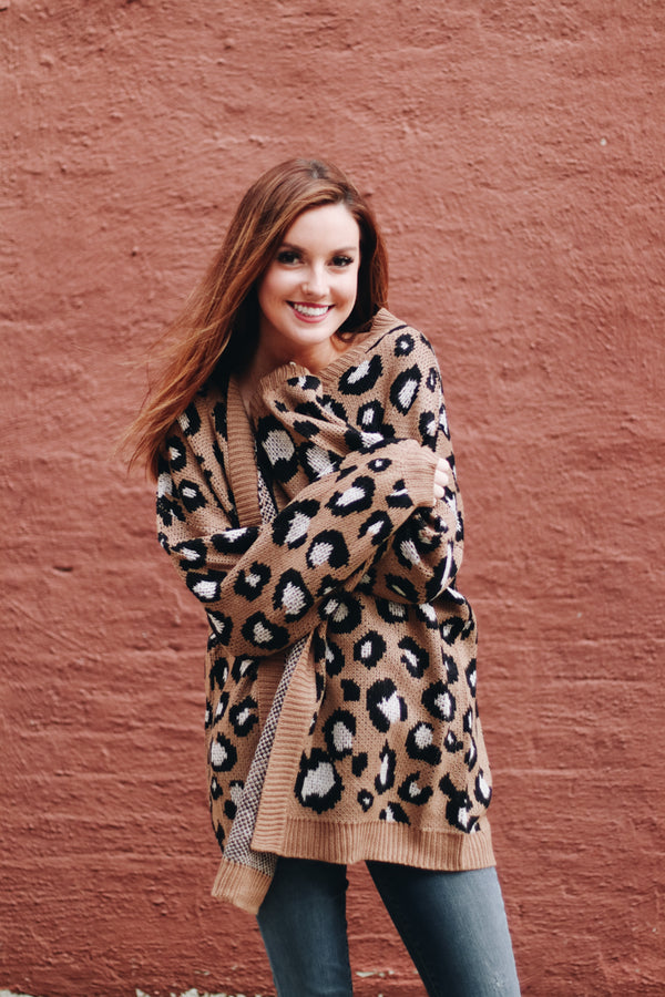 Can't Go Wrong Leopard Cardigan