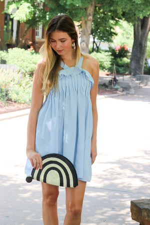 Have It Your Way Ruffle Tank Dress