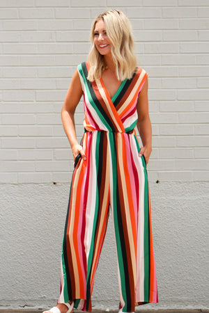 Wild Thing Sleeveless Jumpsuit
