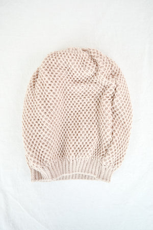 Chilly Weather Waffle Knit Beanie