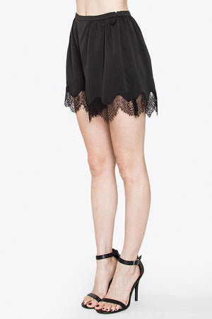 Feminine Mystery Lace Shorts - Savoir-Faire | Women's Clothing Boutique