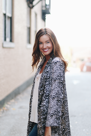 Drama Queen Leopard Duster